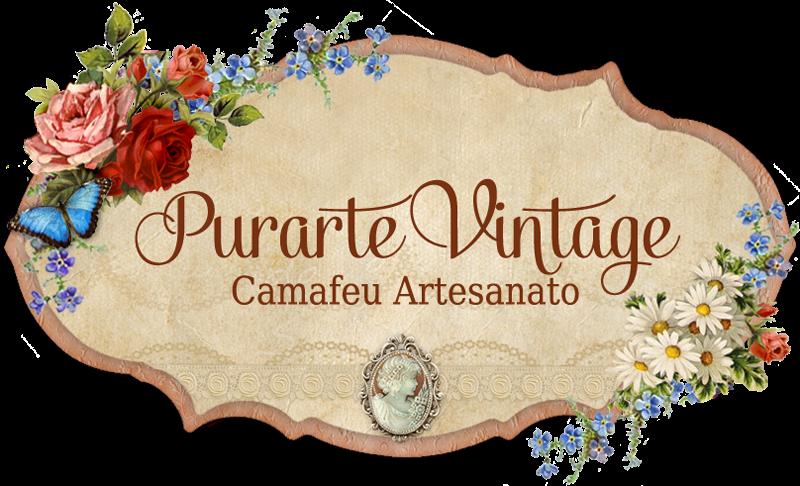 Purarte Vintage - Camafeu Artesanato