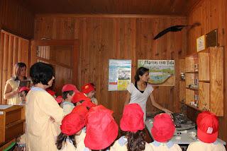 O Jardim de Infância da ABPG visitou o CERVAS