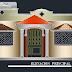 مخطط مشروع مسكن عائلي طابق أرضي كاملا اوتوكاد dwg