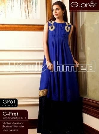 Gul Ahmed Shirt Long Frocks