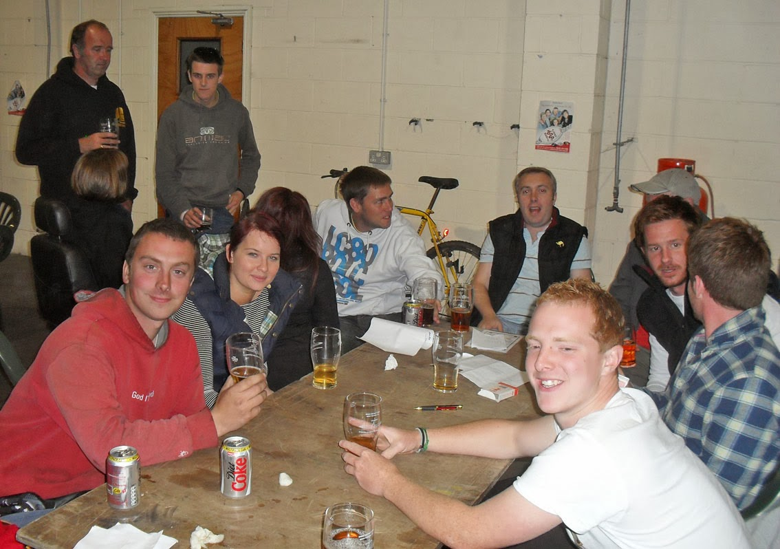 Brigg Beer Festival - pictured on Nigel Fisher's Brigg Blog