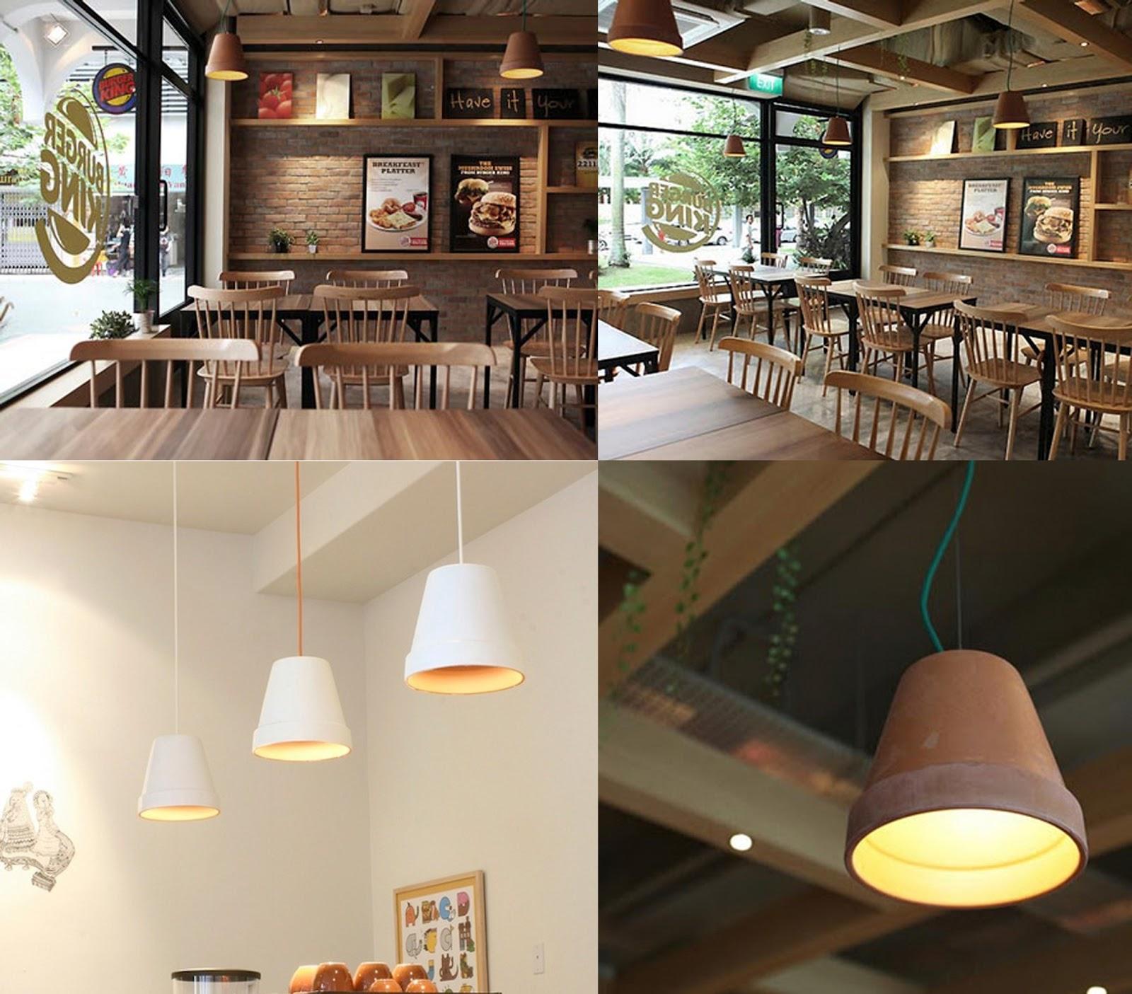 El atelier de bea diy lamparas colgantes con macetas - Macetas colgantes interior ...