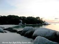 7 tempat wisata pantai yang terkenal di bangka belitung,Pantai Tanjung Ular