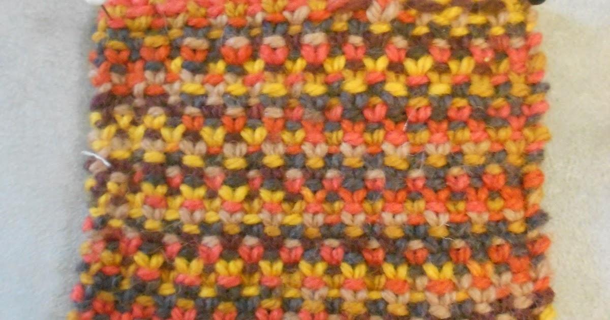 Knitting Stitches Sl1 Wyif : Blue Betty: Stitch Guide: Linen Stitch