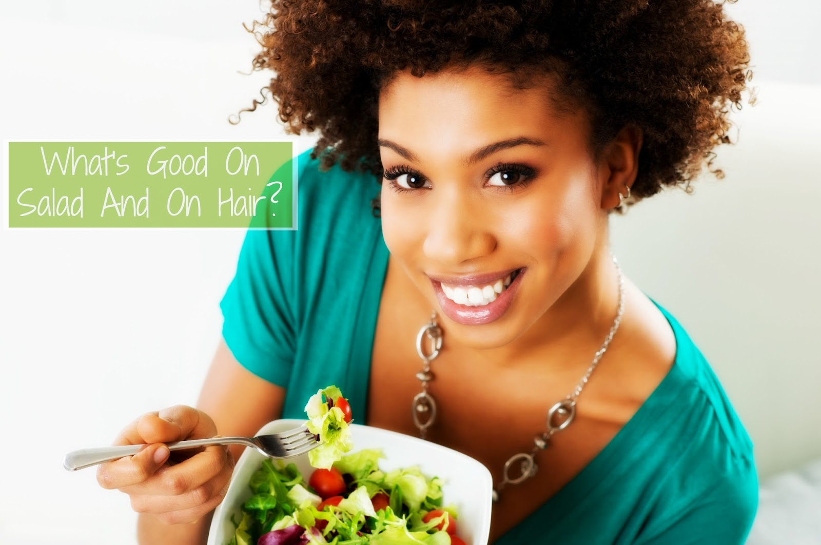 POP QUIZ: What's Good On Salad And On Hair? (Hint: It's Not Kale)
