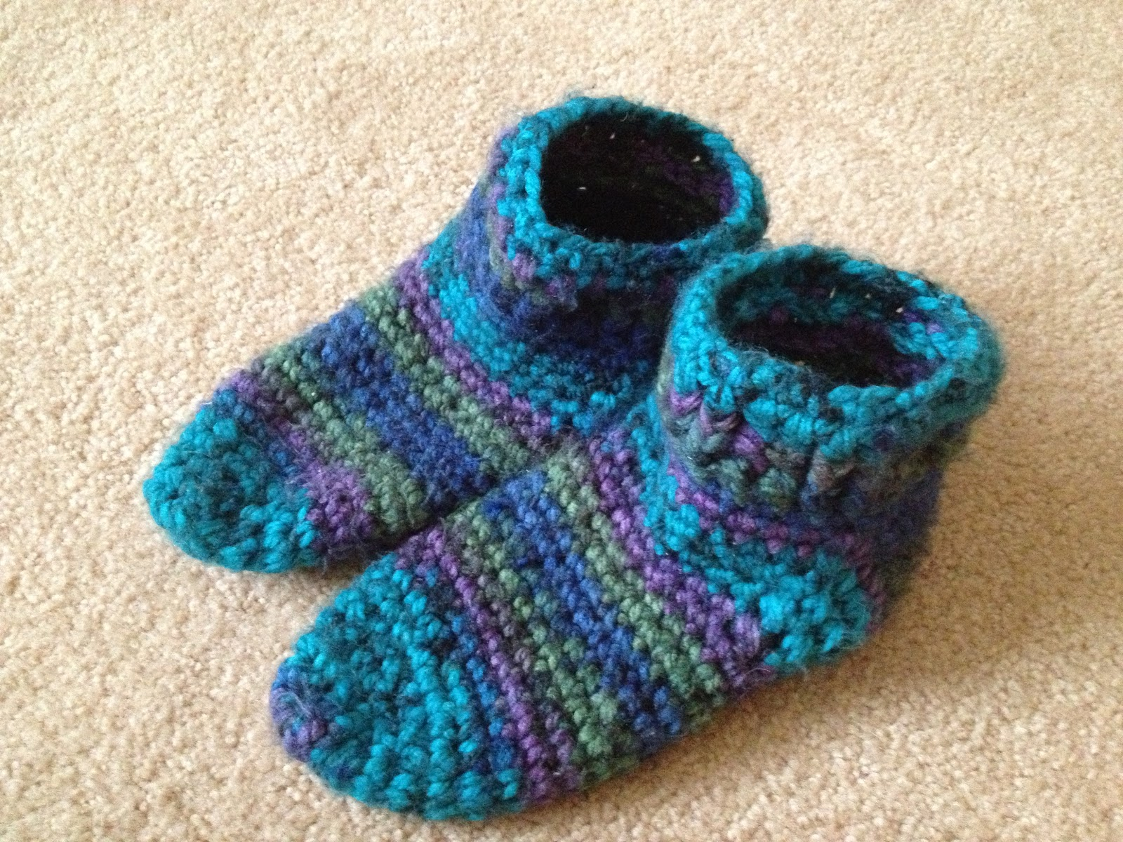 Crochet Patterns Loops And Thread Yarn : Stitch This, Freud!: Finding the Perfect Slipper-Boot Pattern