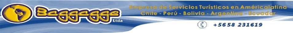 Turismo Baggagge Arica-Chile