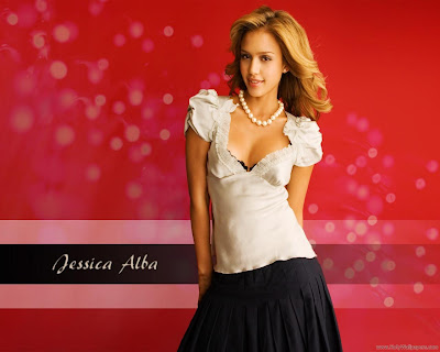 Jessica Alba Glamor Wallpaper