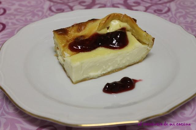 tarta de queso del Zuberoa