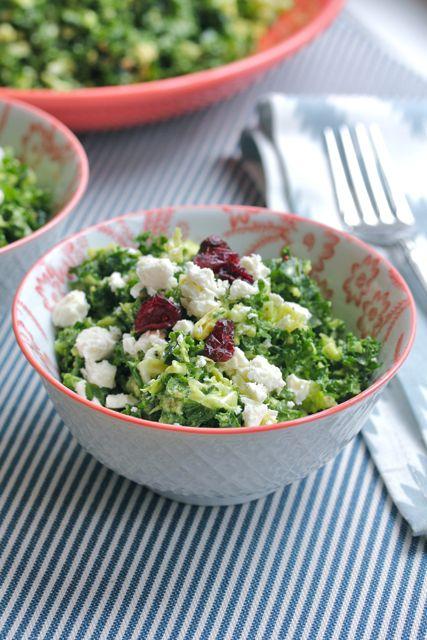 kale salad peanut dressing