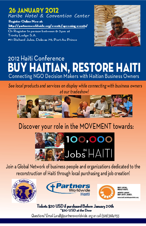 As we are planning a conference to gather NGOs and Haitian Business Owners on the 26th of January as well as putting out monthly newsletters and developing ...  sc 1 th 279 & A Mission Possible: Haiti