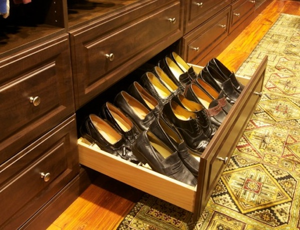 Shoe Storage Solution For More Space For