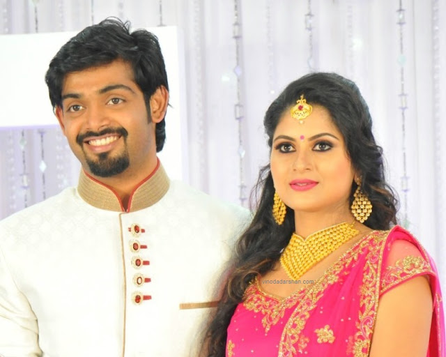 Actress Sruthi lekshmi engagement photos
