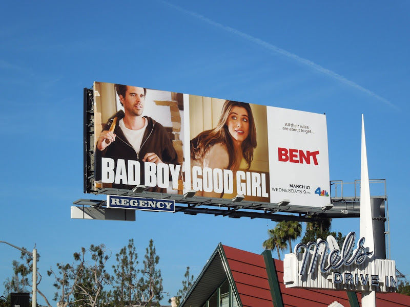 Bent billboard