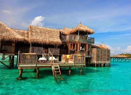 desain rumah ala resort