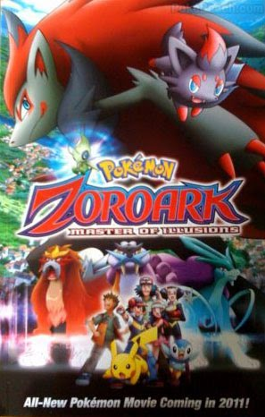 Pokemon Movie 13 : Bá Chủ Của Ảo Ảnh ZoroarkPokemon-zoroark Master Of Illusions