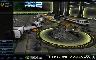 Galaxy on Fire 2™ THD Free Game Application: Android Interface