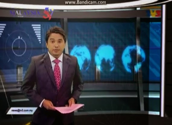 Izwan Azir Saleh TV3 Mengigil Baca Berita Bahasa Inggeris