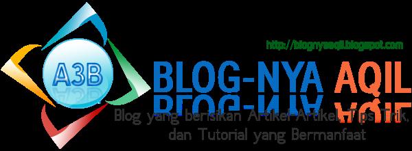 Blog-Nya AQil