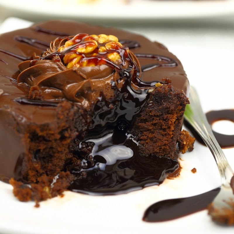 Chocolate Lava Cake recipe from Grandmother's Kitchen