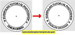 Teks Stempel Lingkaran Dengan Photoshop