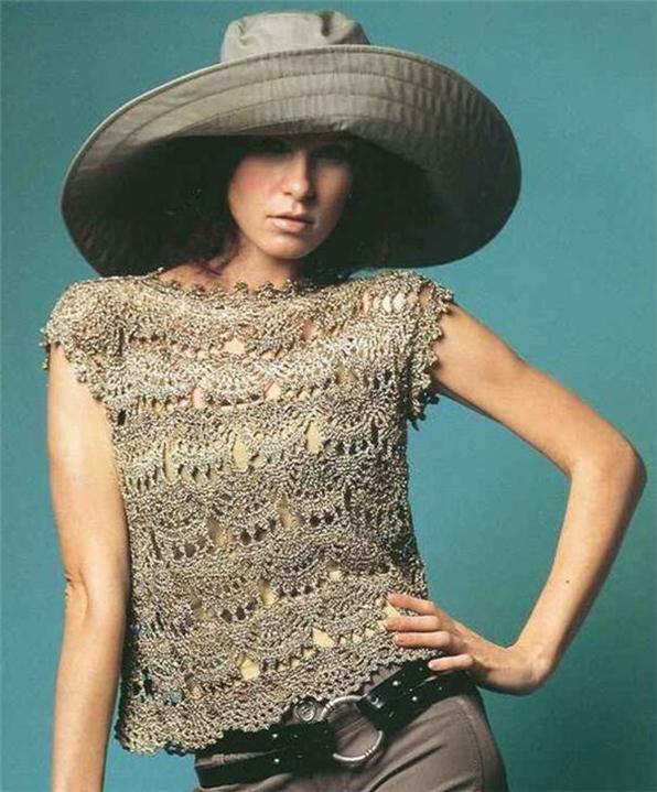 Blusas tejidas a mano gancho crochet - Imagui