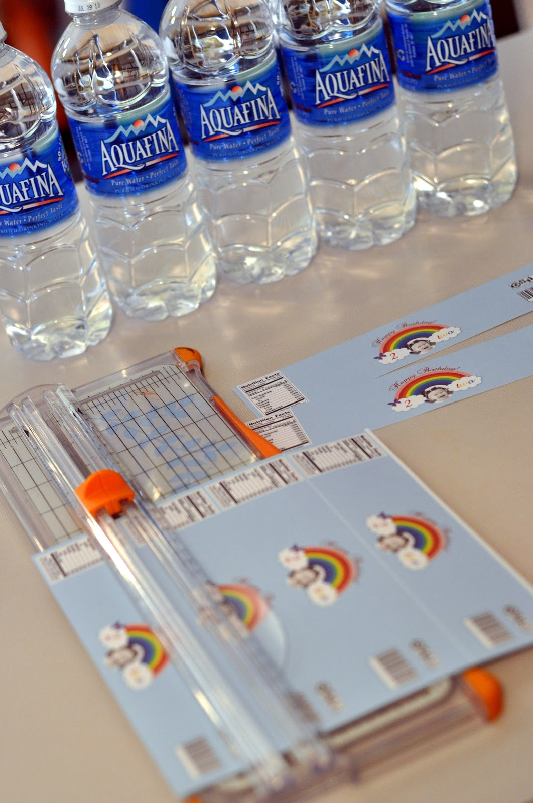 How To Put Labels On Water Bottles Craftily Ever After Customized Water Bottle Labels