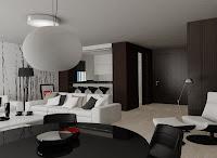 3d model interior living room vray