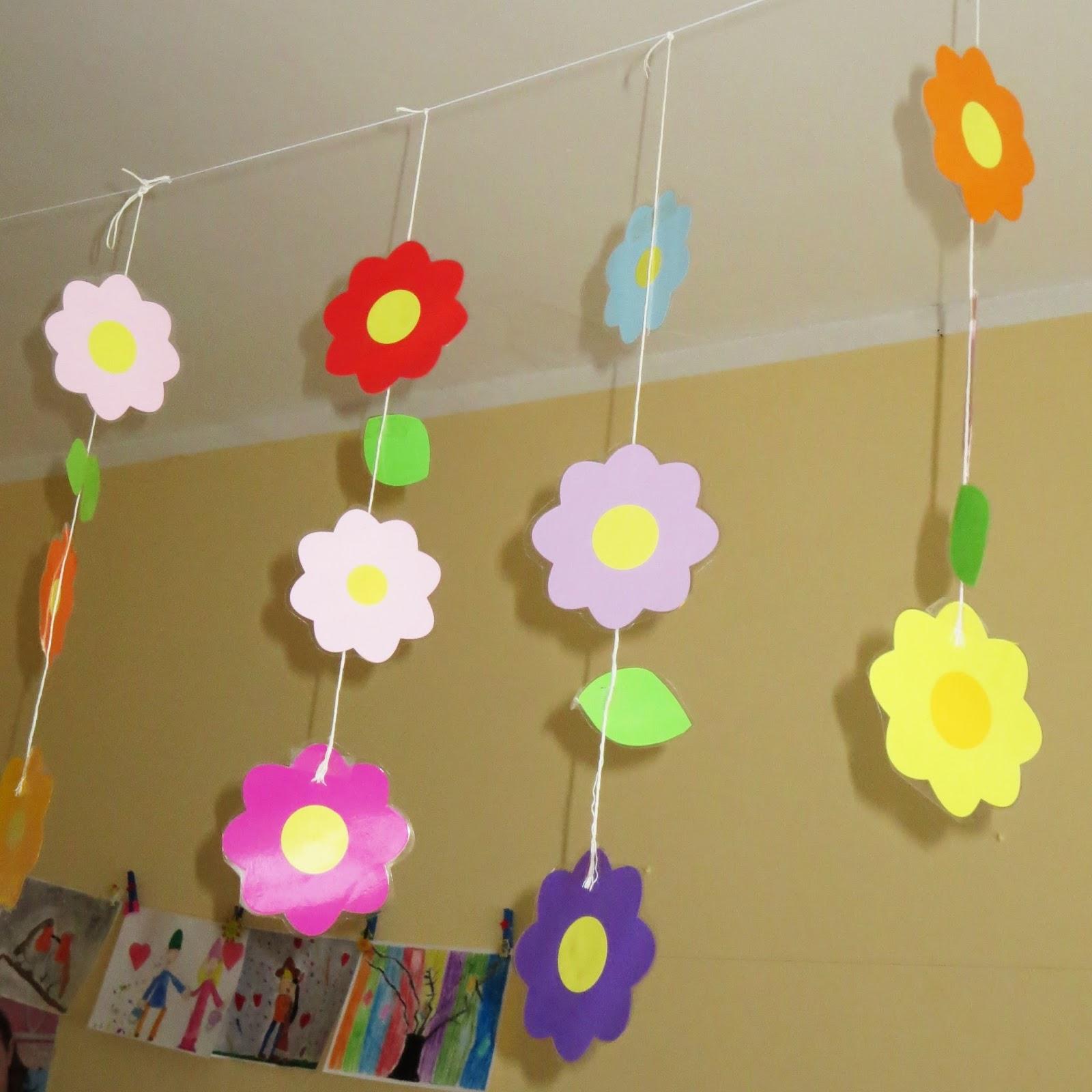 Studiamando liberamente decorazioni primaverili una for Decorazioni da appendere