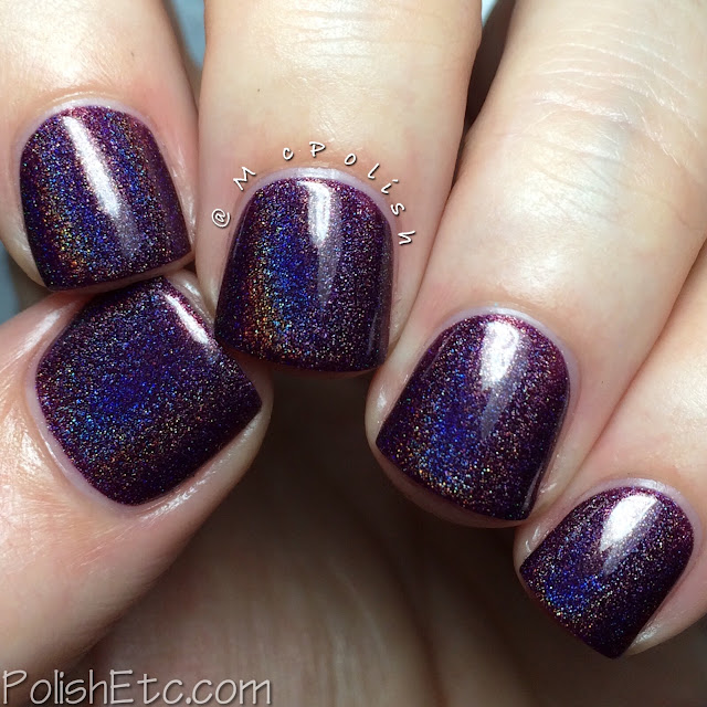 KBShimmer Fall 2015 Collection - Fig-Get About It - McPolish