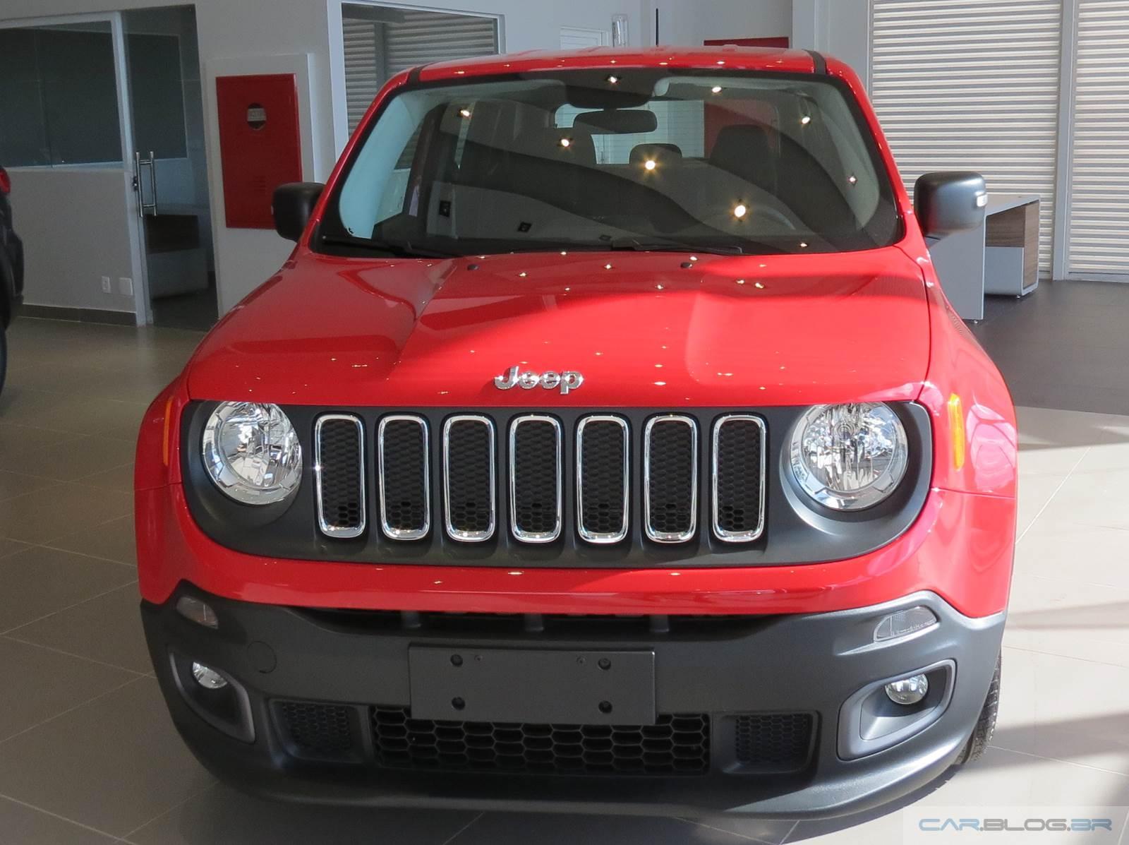 Famosos Jeep Renegade Flex: fotos e vídeo do modelo de R$ 69.9 mil | CAR  YA64
