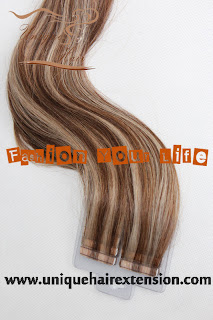 foiled look tape weft piano color