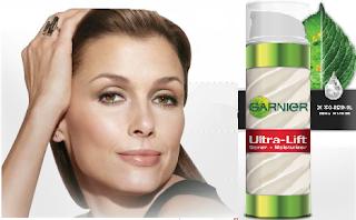 Free Garnier Ultra-Lift Serum+ Moisturizer