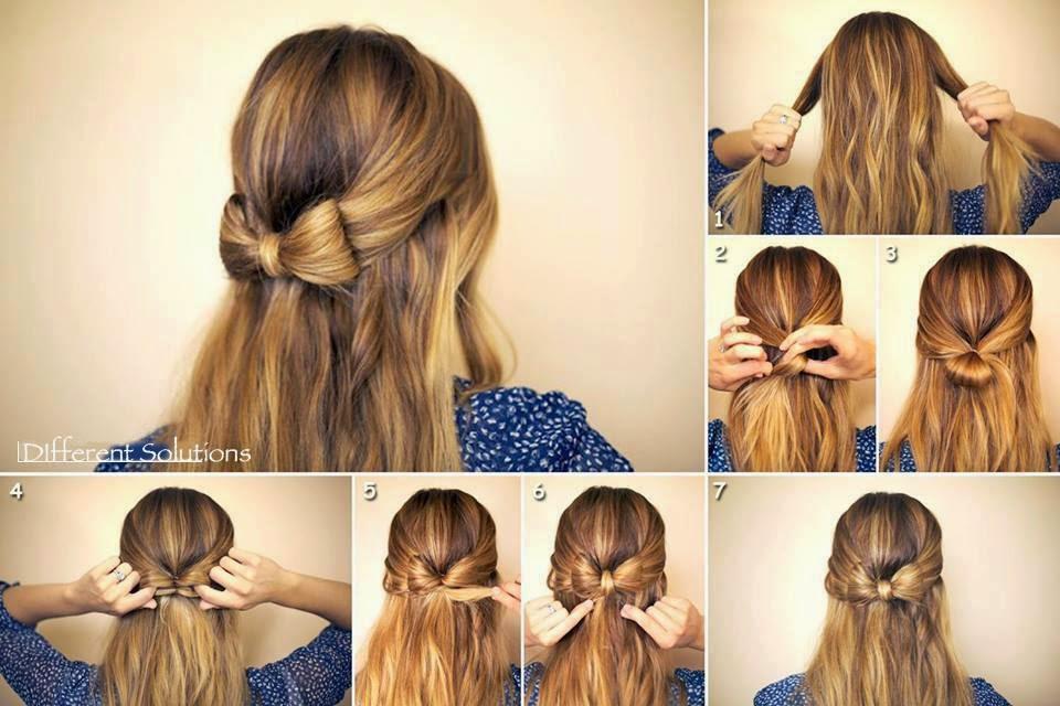 какие прически можно сделать в школу на средние волосы