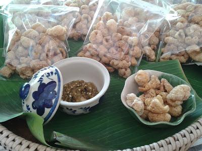 แคบหมู อาหารไทย, ของกินขายดี