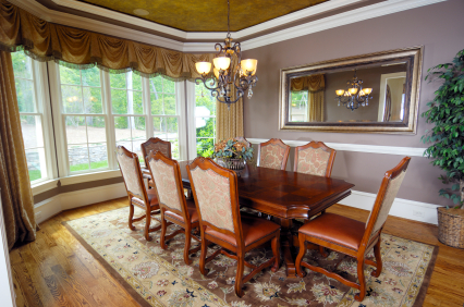 dining table size of rugs for dining table