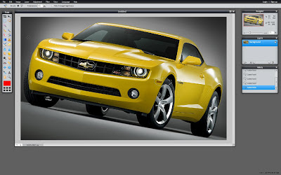 Color selector Pixlr
