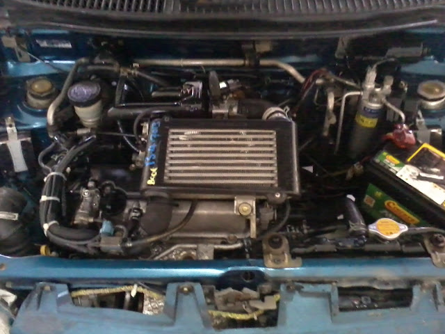 with machine perodua kancil 850cc converted to 660cc turbocharge efi ef det engine