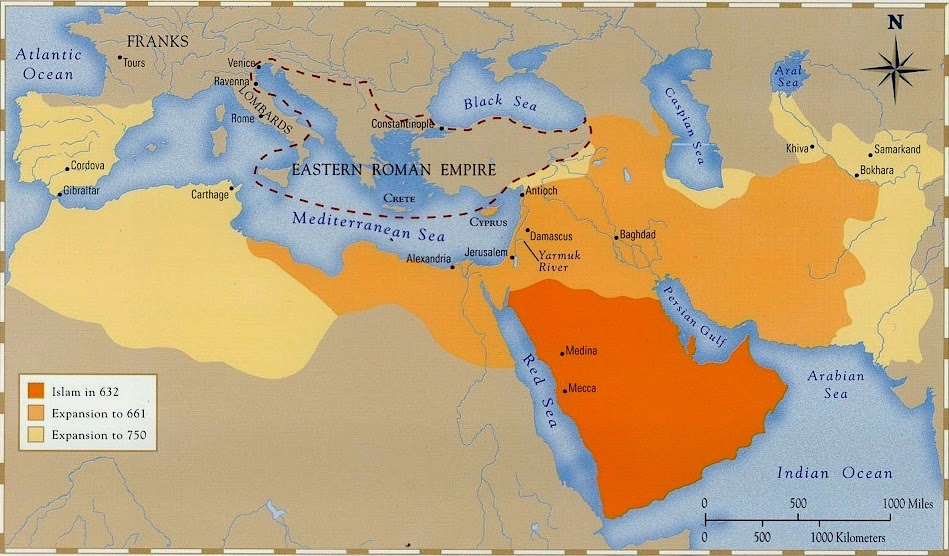 Anthropology of accord map on monday the spread of islam to 750 ad map on monday the spread of islam to 750 ad gumiabroncs Choice Image