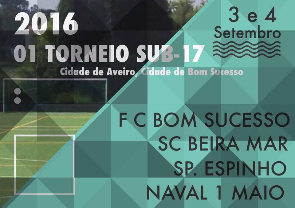 SUB17 no Torneio Cidade de Aveiro