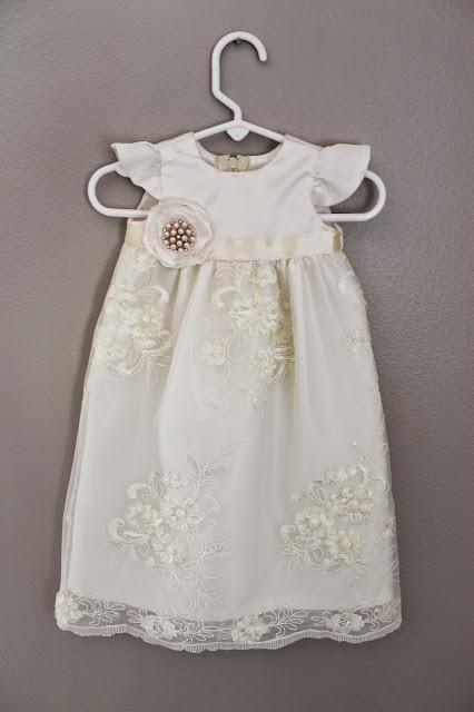 Anna Elizabeth Made Baby Blessing Dress