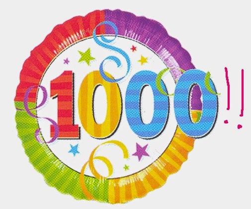 1000 pengunjung
