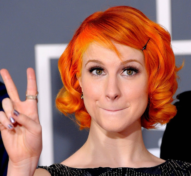 Hayley Williams Fashion Emo Hair Trends