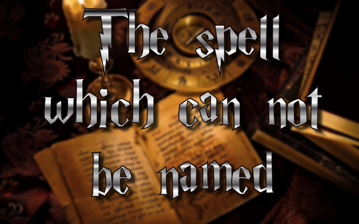 The spell which was NOT in the Harry Potter movies
