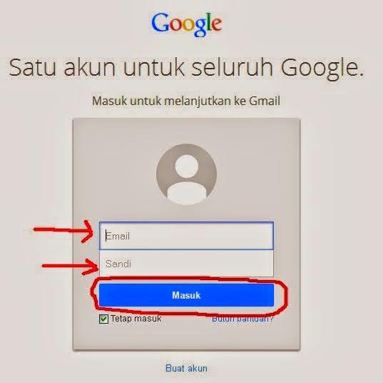 Cara membuka Email di yahoo dan Gmail