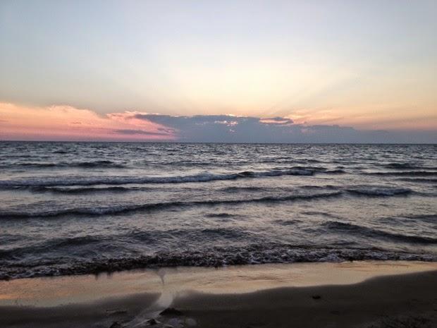 medelhavet solnedgång