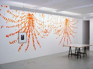 Richard Müller: Galerie Schedler vue de l'installation