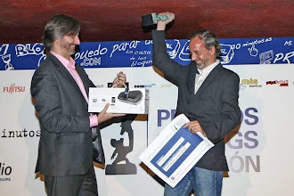 PRIMER PREMIO 20BLOGS 2010