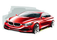 2013 BMW 3-Series (F30) Development Drawing Exterior