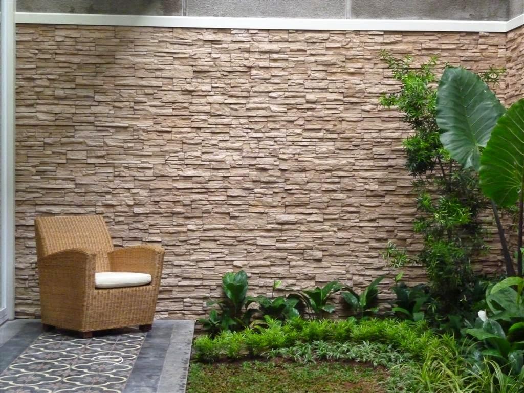 Desain Dinding Batu Alam